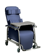 Lumex Preferred Care Drop Arm Reclining Geriatric Chair 565DG